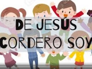 De Jesús cordero soy - grupo de niños cantando