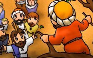 Jesus y Zaqueo. Mensaje para los niños