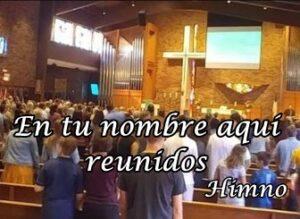 iglesia congregación reunida